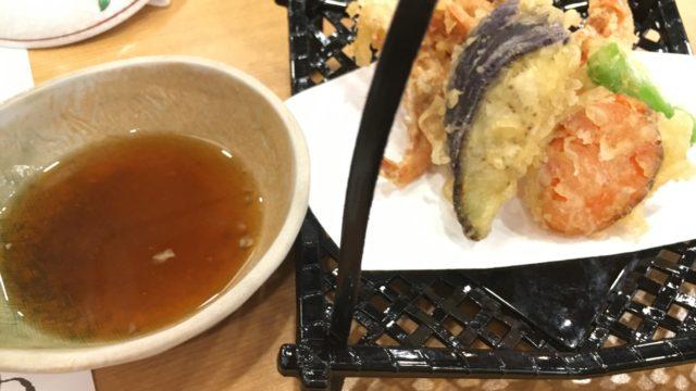 夕飯の天ぷら