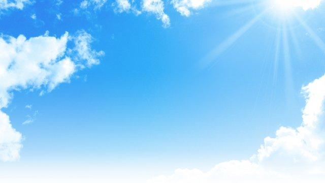 夏の空と雲